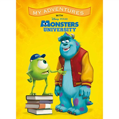 Monsters University ''My Adventures'' Personalizable Book - Large Format