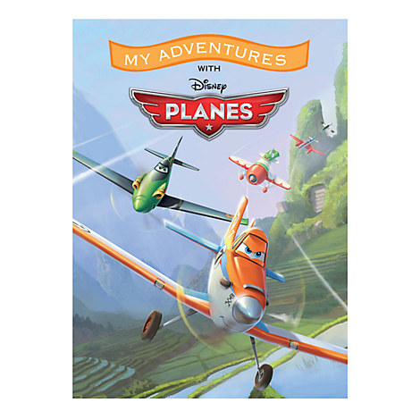 Planes Personalizable Book - Large Format
