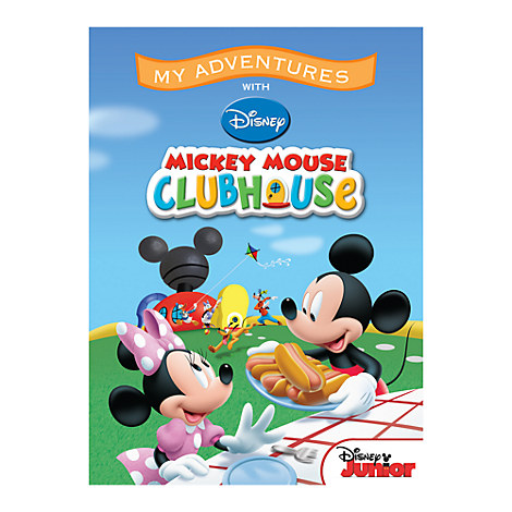 Mickey Mouse Clubhouse ''My Adventures'' Personalizable Book - Standard Format