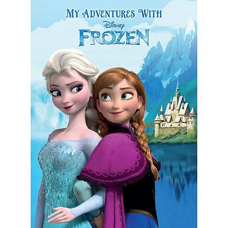 Frozen Personalizable Book - Large Paperback Format