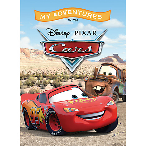 Cars Personalizable Book - Large Hardcover Format