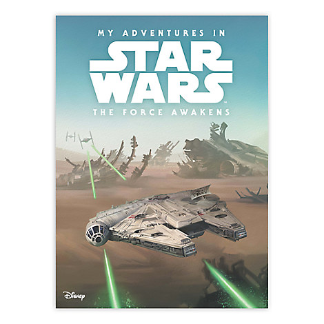 My Adventures in Star Wars: The Force Awakens - Personalizable Book - Standard Format
