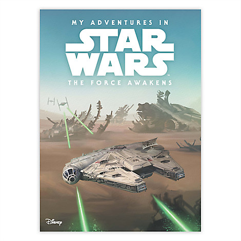 My Adventures in Star Wars: The Force Awakens - Personalizable Book - Large Format