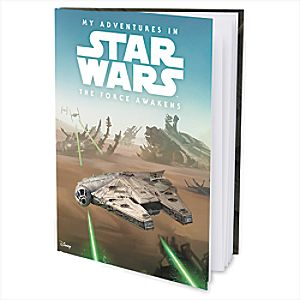My Adventures in Star Wars: The Force Awakens - Personalizable Book - Large Hardcover Format