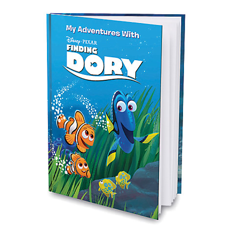 Finding Dory Personalizable Book - Large Hardcover Format