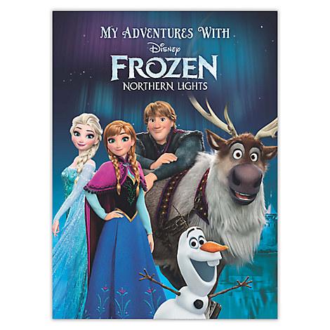 Frozen Northern Lights Personalizable Book - Standard Format