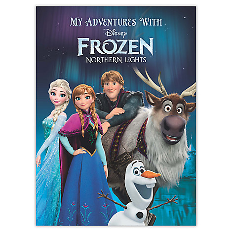 Frozen Northern Lights Personalizable Book - Large Format