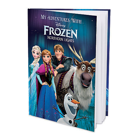 Frozen Northern Lights Personalizable Book - Large Hardcover Format