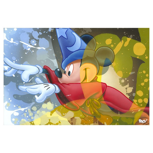 ''Mickey Sorcerer'' Giclee on Canvas by ARCY – Limited Edition