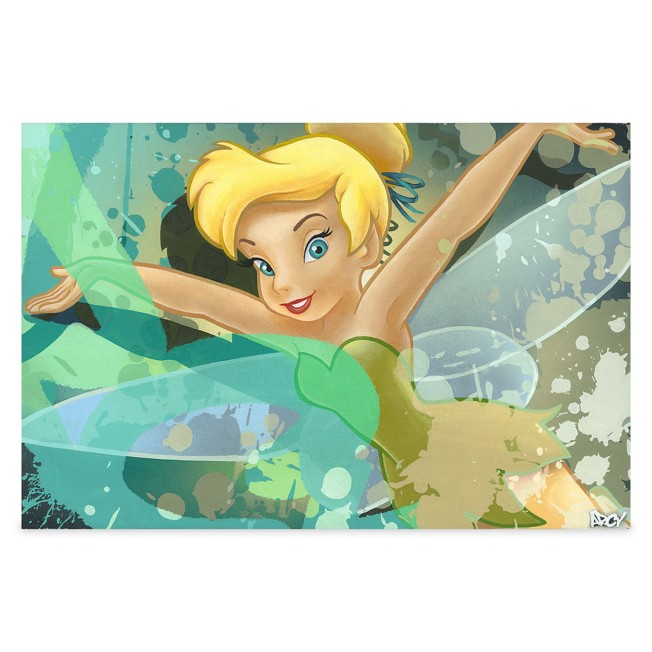 ''Tinker Bell'' Giclee on Canvas by ARCY – Limited Edition