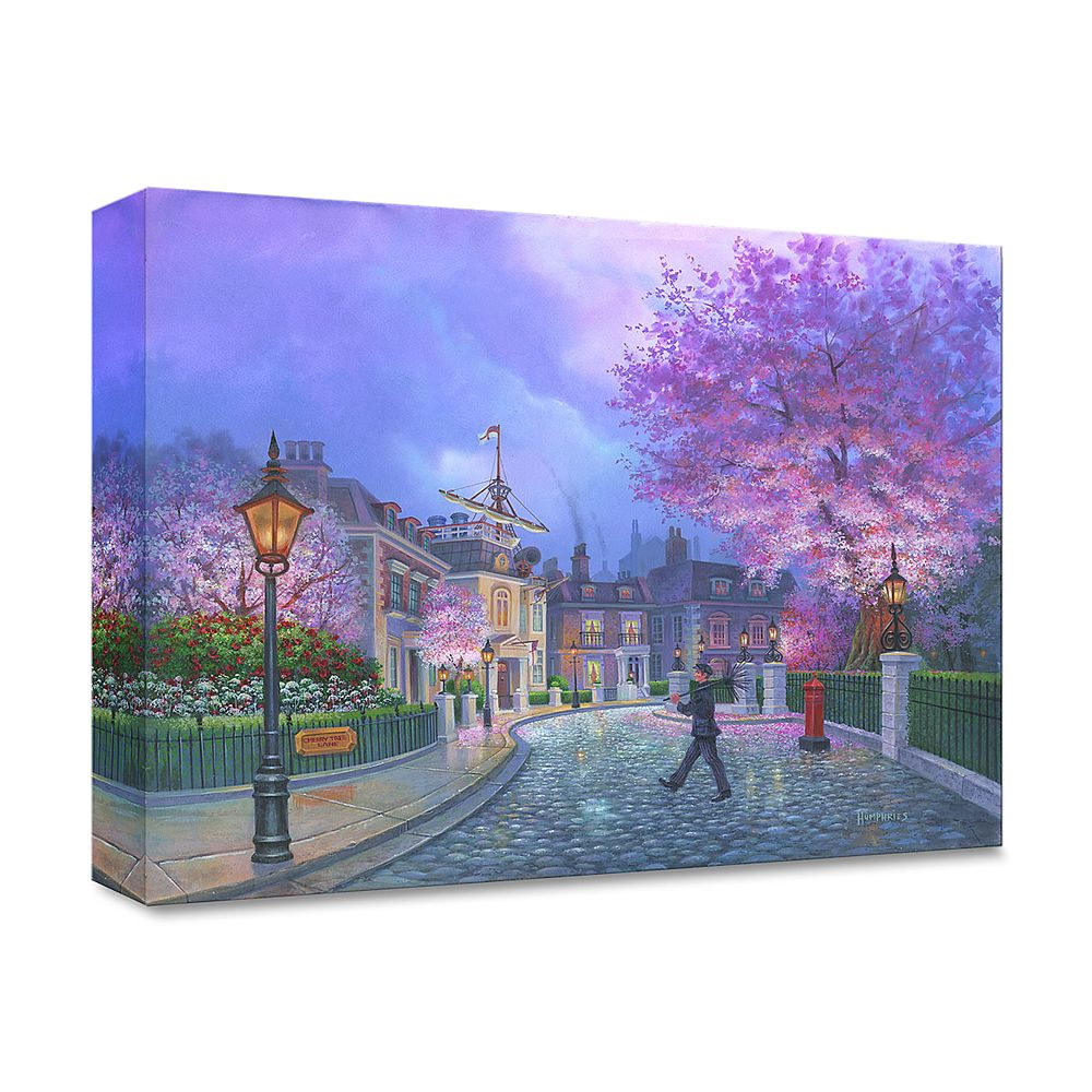 ''Cherry Tree Lane'' Gallery Wrapped Canvas by Michael Humphries – Limited Edition