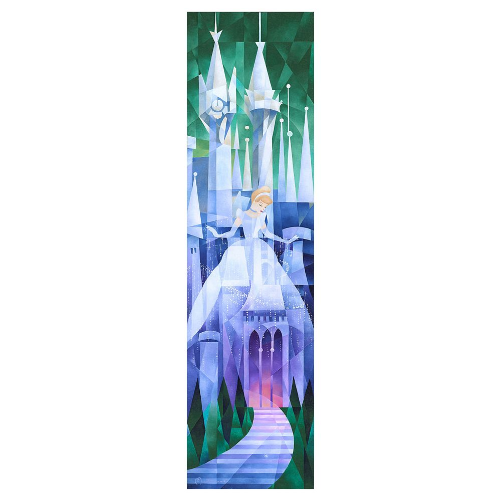 ''Cinderella's Castle'' Gallery Wrapped Canvas by Tom Matousek – Limited Edition