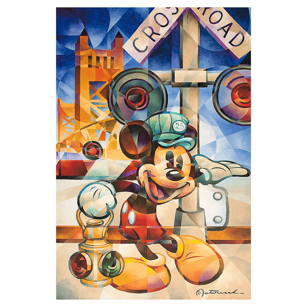 ''Happy Engineer'' Gallery Wrapped Canvas by Tom Matousek – Limited Edition