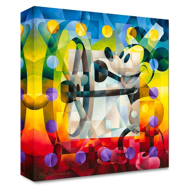 ''Steamboat Willie'' Gallery Wrapped Canvas by Tom Matousek – Limited Edition
