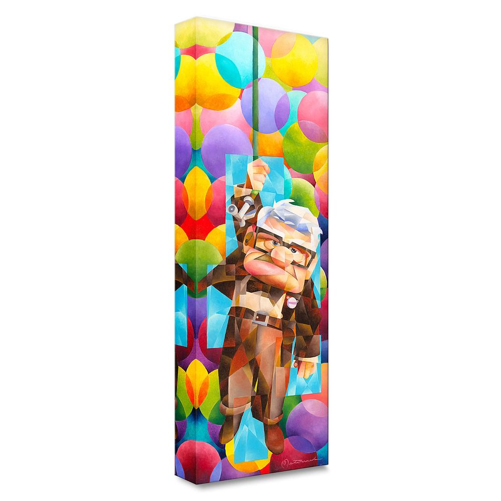 ''Up Goes Carl'' Gallery Wrapped Canvas by Tom Matousek – Limited Edition