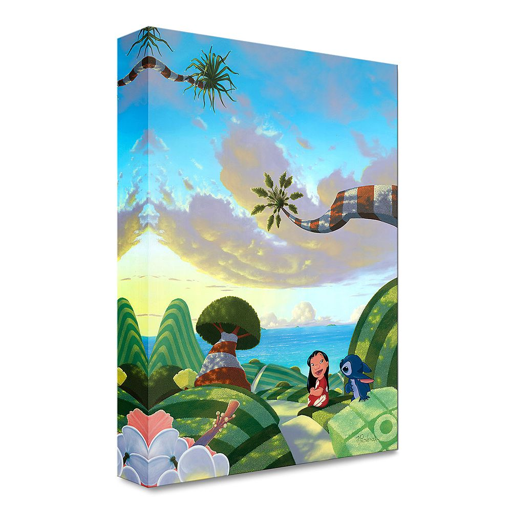 ''A Tropical Idea'' Gallery Wrapped Canvas by Michael Provenza – Limited Edition