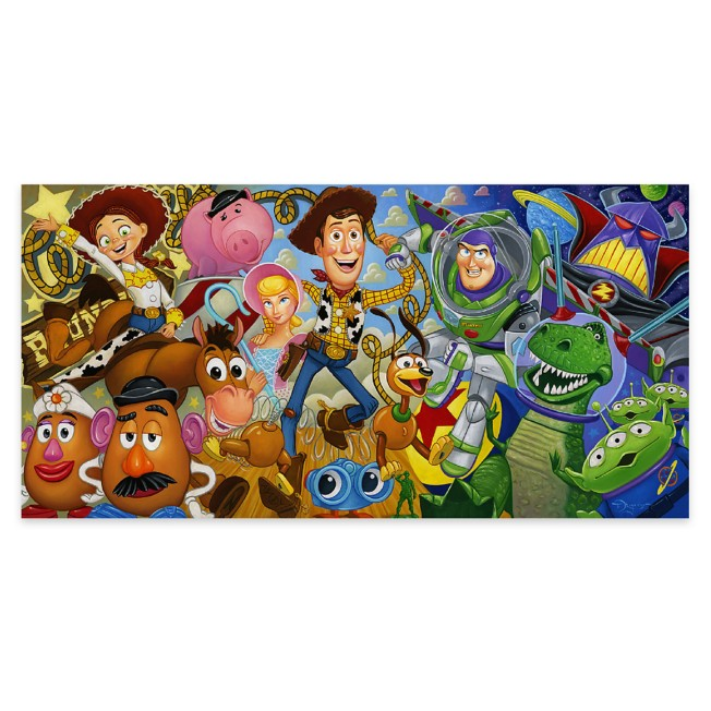 ''Cast of Toys'' Gallery Wrapped Canvas by Tim Rogerson – Limited Edition