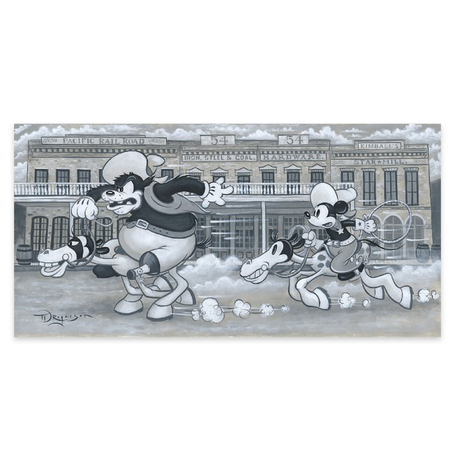 ''The Big Chase'' Gallery Wrapped Canvas by Tim Rogerson – Limited Edition