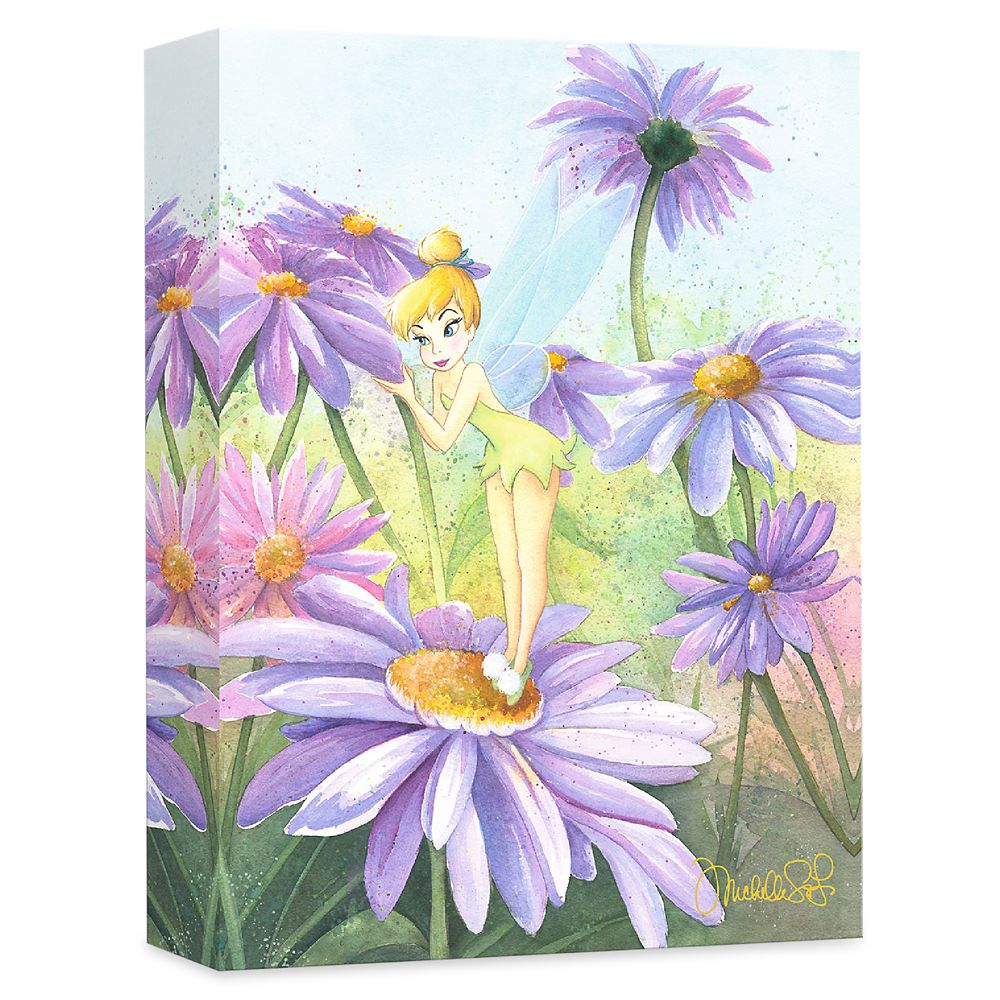 ''Delicate Petals'' Gallery Wrapped Canvas by Michelle St.Laurent – Limited Edition