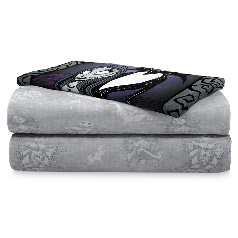 Jack Skellington and Sally Sheet Set