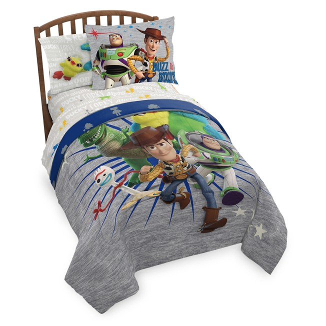 Toy Story 4 Comforter Set – Twin / Full