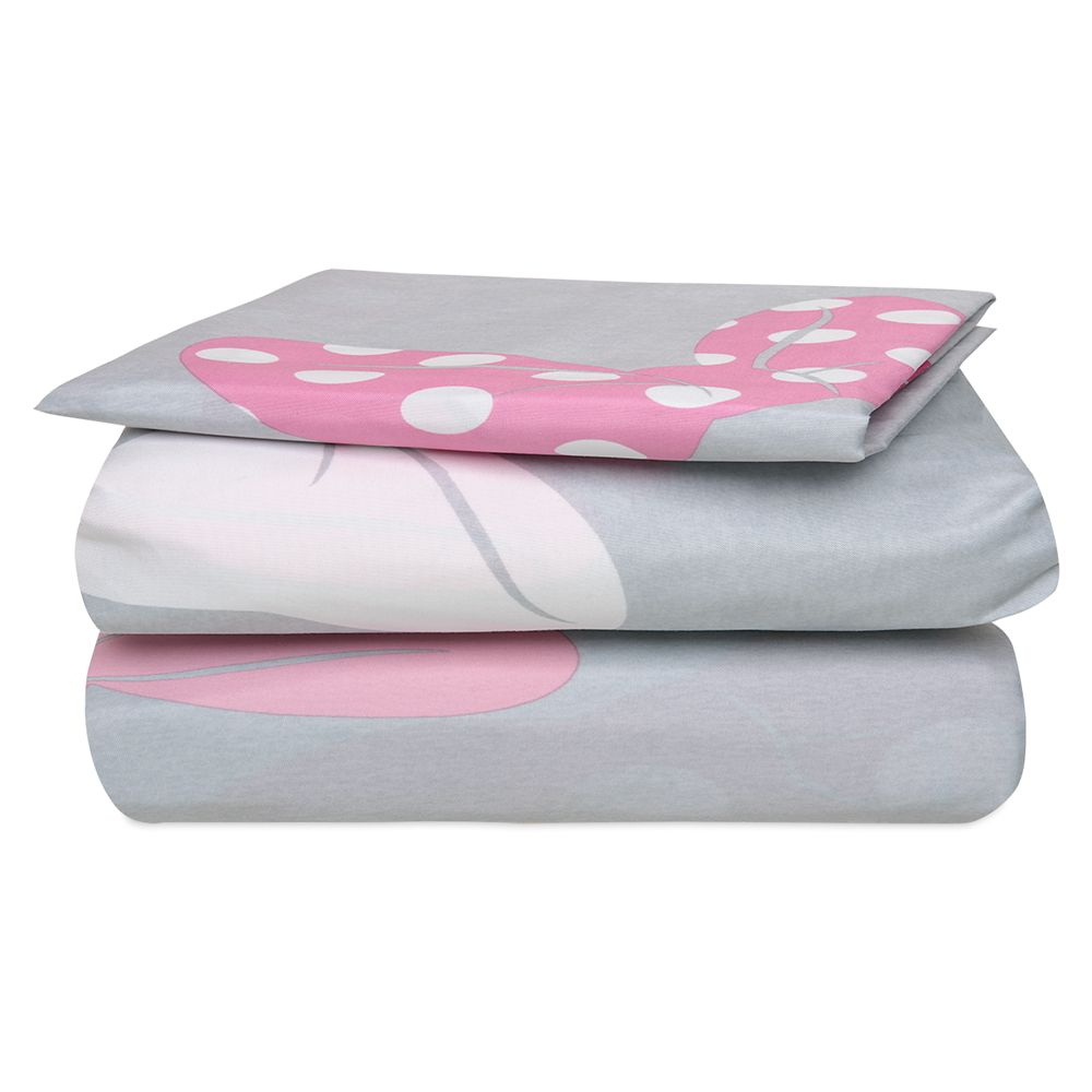 Minnie Mouse Bow Sheet Set – Twin / Full