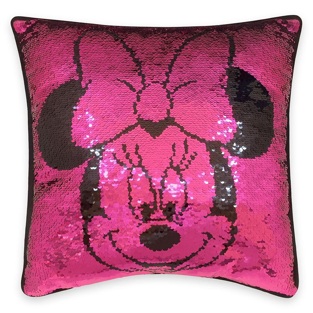 Minnie Mouse Reversible Sequin Pillow