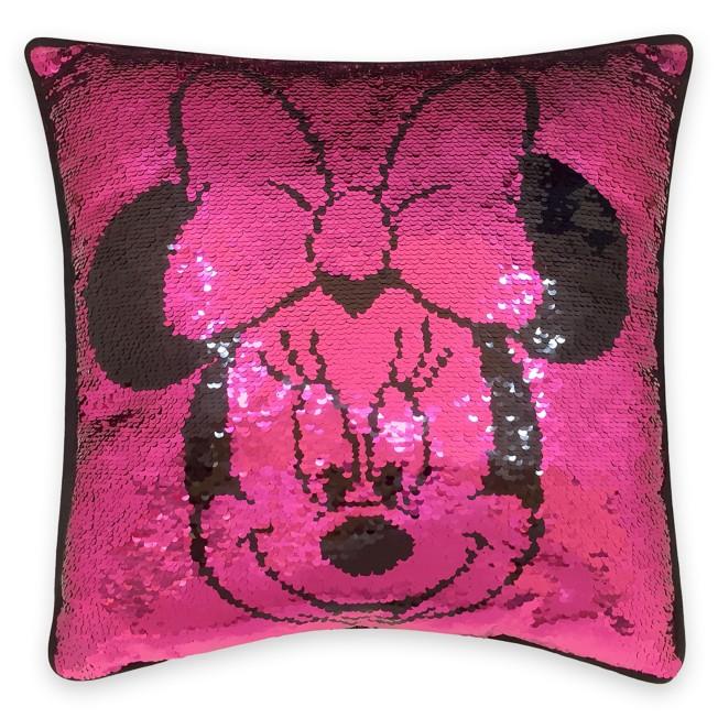Minnie Mouse Reversible Sequin Pillow