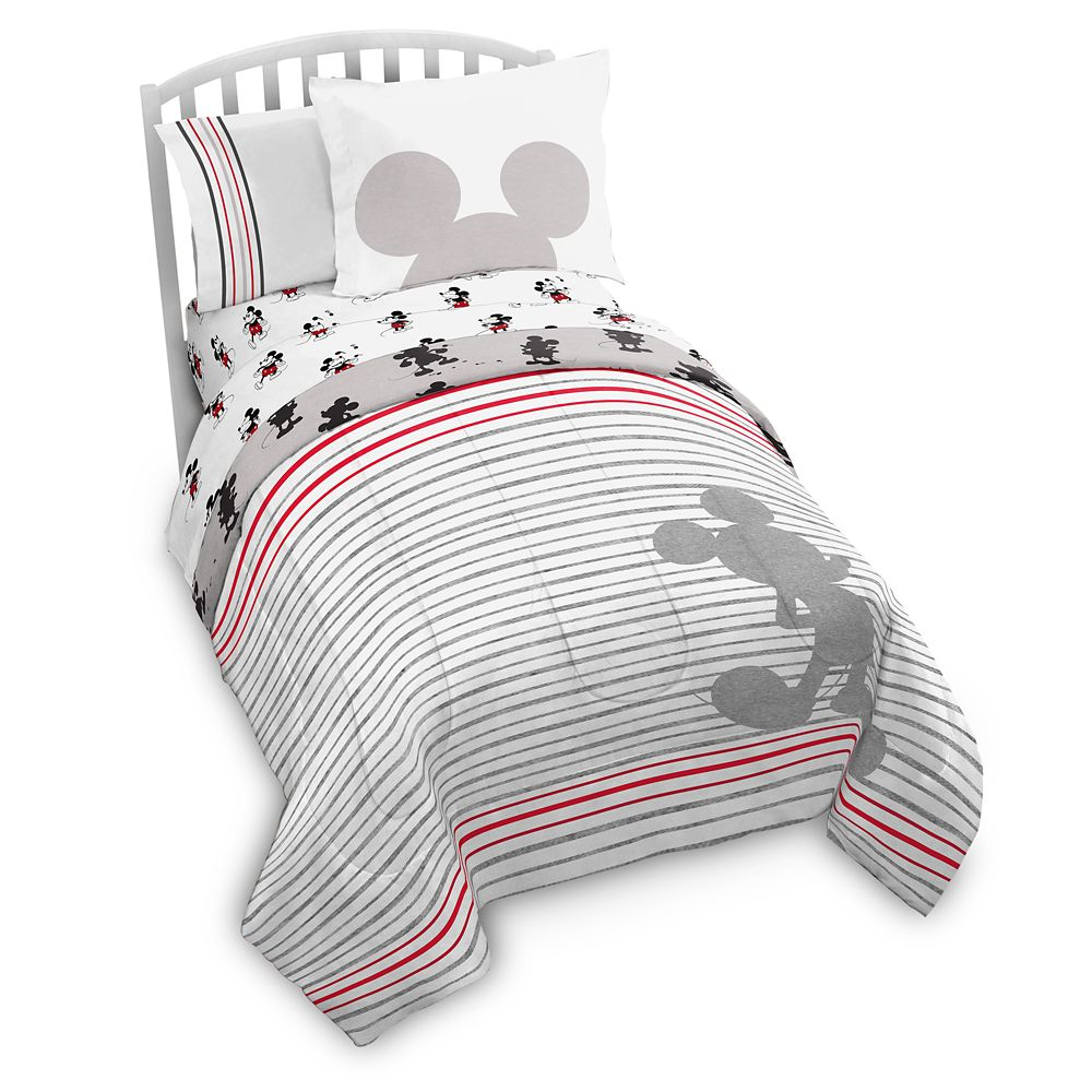 Mickey Mouse 90th Anniversary Comforter Set – Twin & Full/Queen