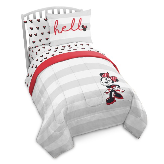 Minnie Mouse Comforter Set – Twin & Full/Queen