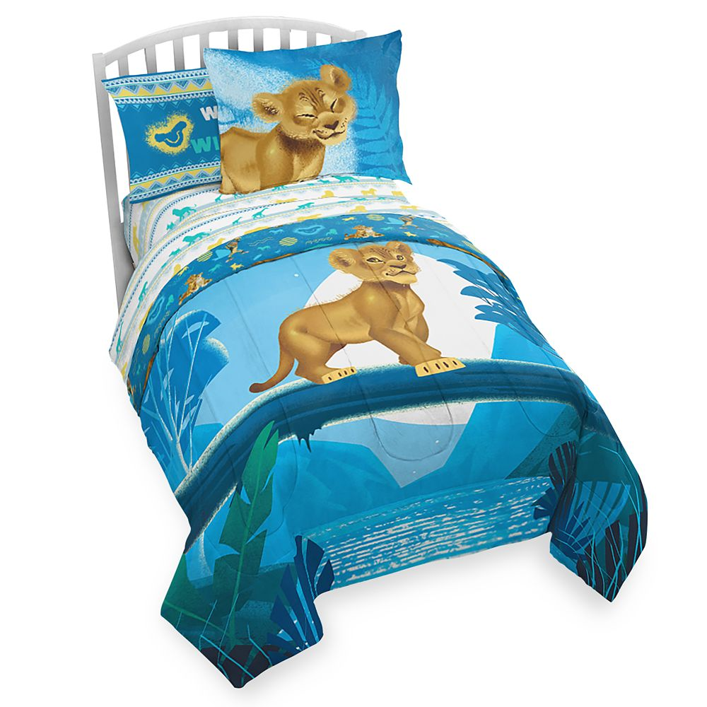 The Lion King Comforter Set – Twin / Full – 2019 Film