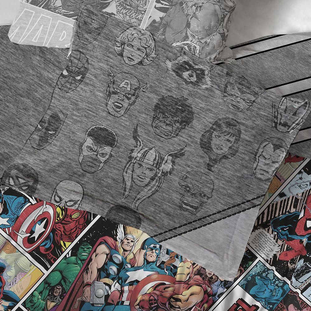 Marvel 80th Anniversary Comforter Set – Twin & Full/Queen