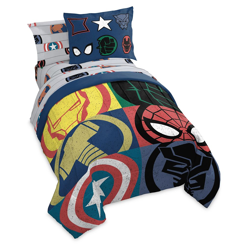 Marvel Symbols Bedding Set – Twin/Full/Queen