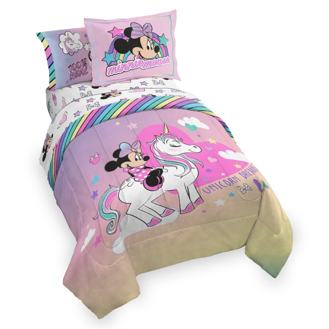 Minnie Mouse Unicorn Dreams Comforter Set – Full