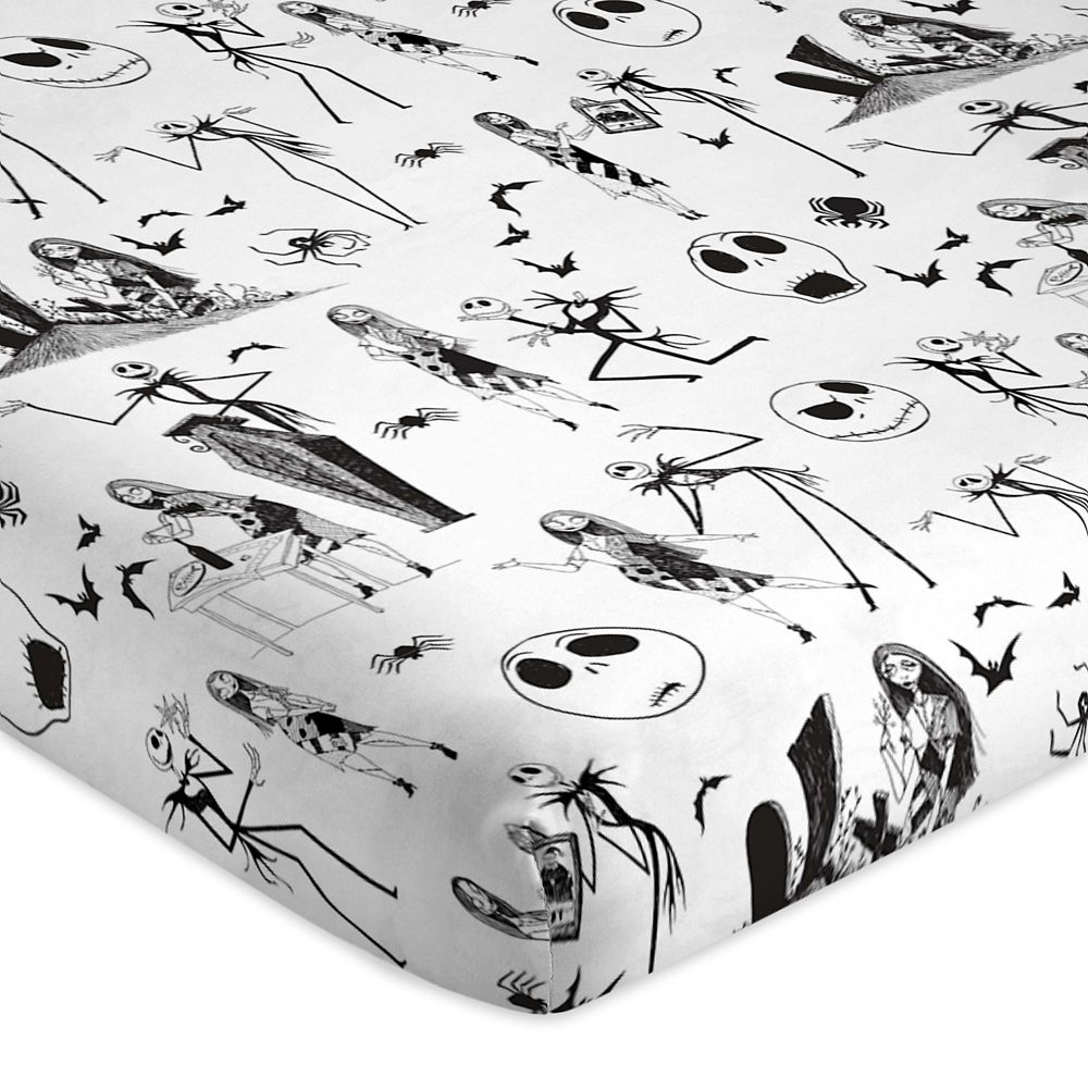 Jack Skellington and Sally Sheet Set Twin / Full / Queen – The Nightmare Before Christmas