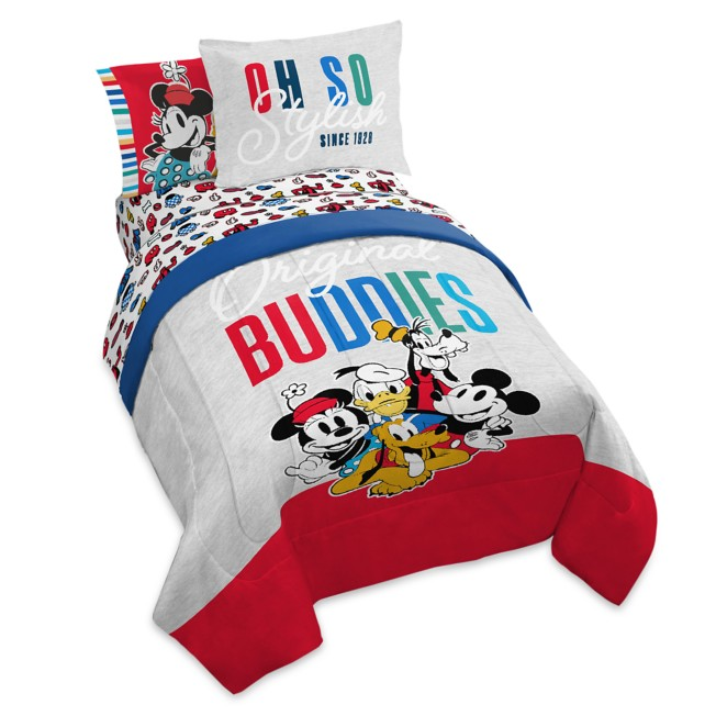 Mickey Mouse and Friends ''Original Buddies'' Comforter Set – Twin