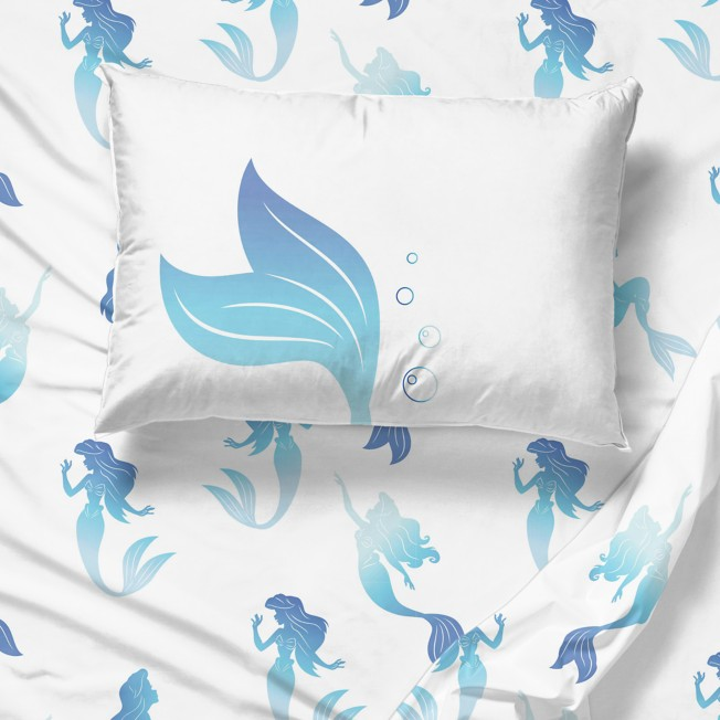 The Little Mermaid Bedding Set Twin, The Little Mermaid Toddler Bedding