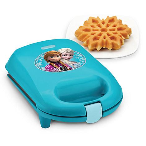 Anna and Elsa Snowflake Waffle Maker