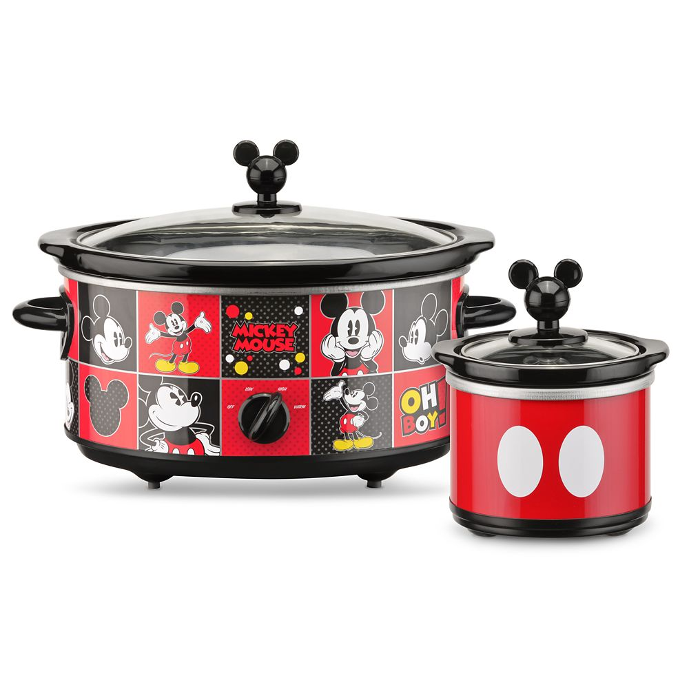 Mickey Mouse Slow Cooker with Dipper Official shopDisney