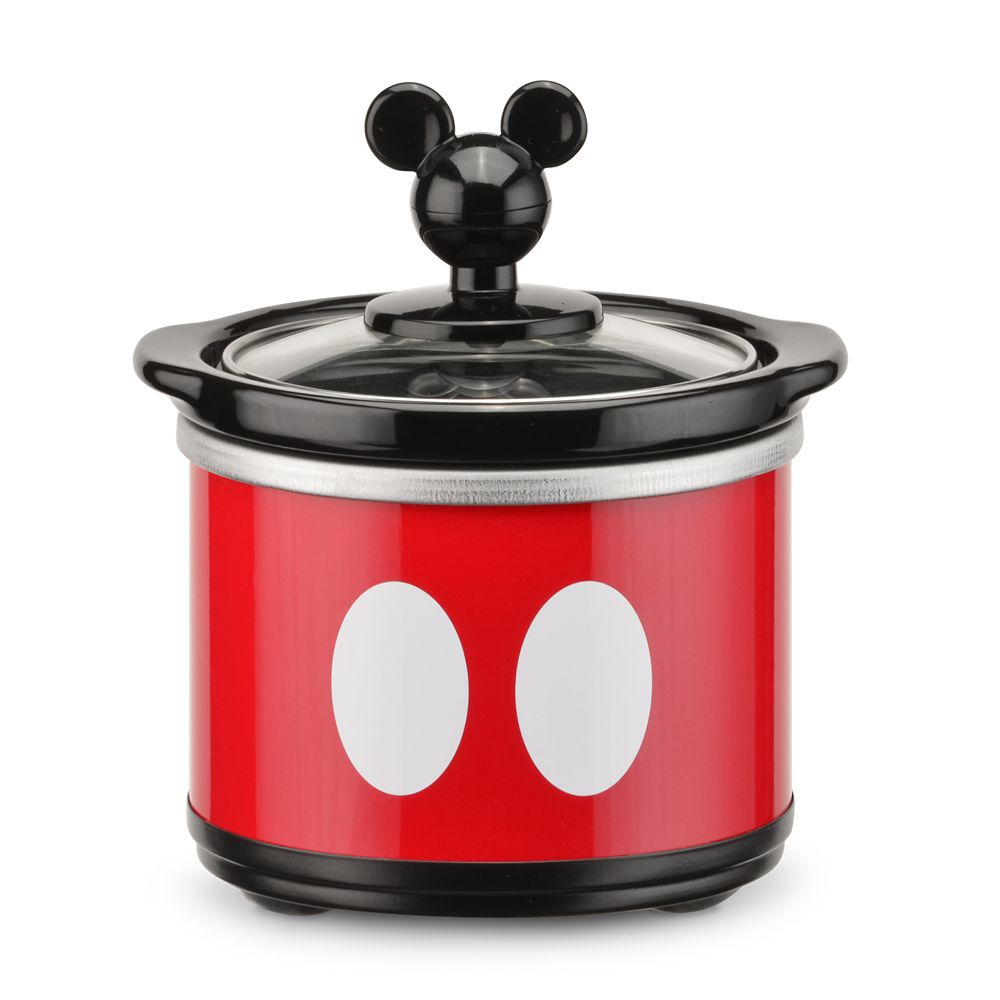 Mickey Mouse Slow Cooker with Dipper