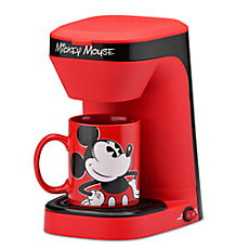 Bean To Cup Coffee Maker Red