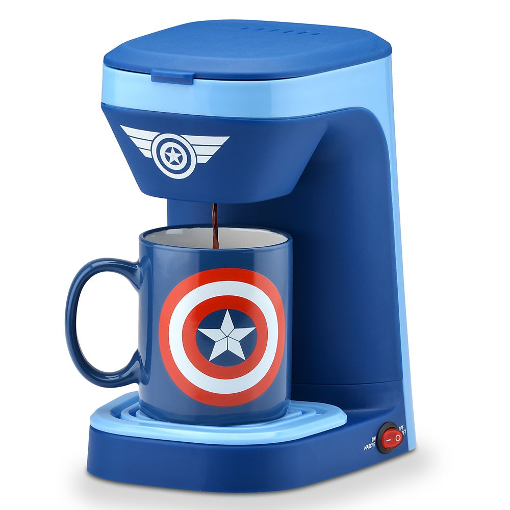 Captain America 1-Cup Coffee Maker Official shopDisney