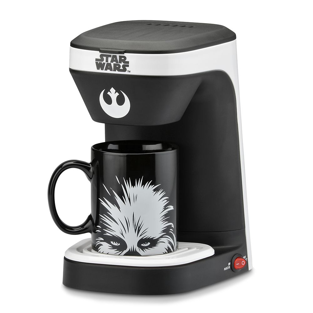 Best Star Wars Gift Ideas featured by top US Disney blogger, Marcie and the Mouse: Chewbacca 1-Cup Coffee Maker Star Wars Official shopDisney