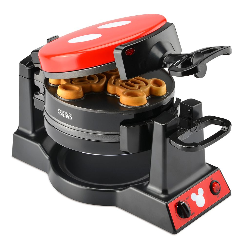 Mickey Mouse 90th Anniversary Double Flip Waffle Maker