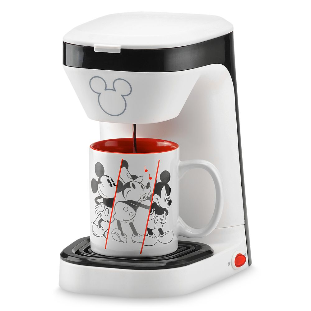 Mickey Mouse 90th Anniversary Single Serve Coffee Maker Official shopDisney