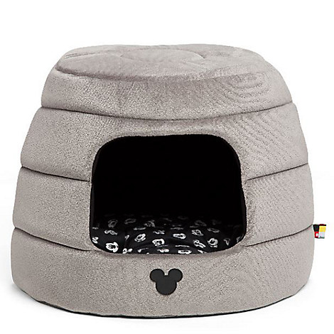 Mickey Mouse Honeycomb Hut Pet Bed - Gray - Jumbo