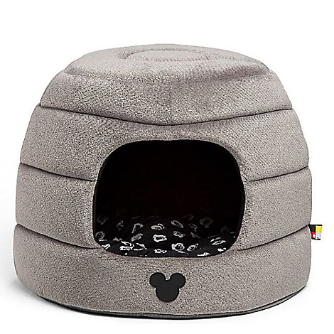 Mickey Mouse Honeycomb Hut Pet Bed - Gray - Standard