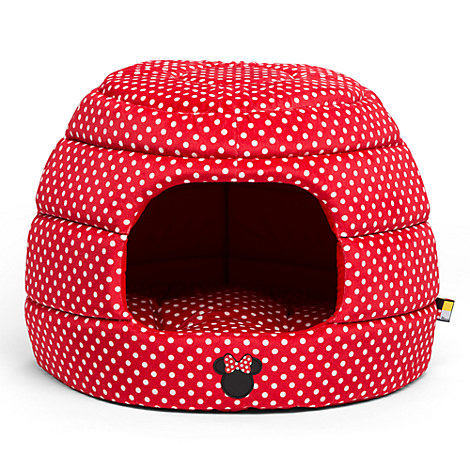 Minnie Mouse Honeycomb Hut Pet Bed - Red - Standard