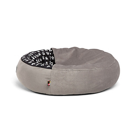 Mickey Mouse Cozy Cuddler Pet Bed - Gray - Small