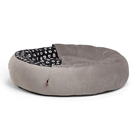 Mickey Mouse Cozy Cuddler Pet Bed - Gray - Medium